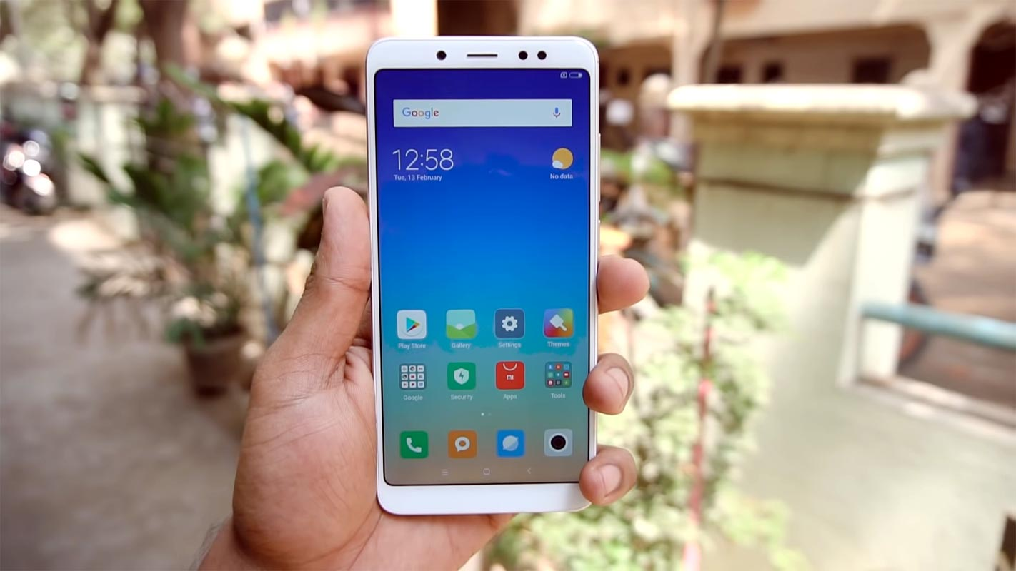 Xiaomi Redmi Note 5 Pro Unlocked Home Screen