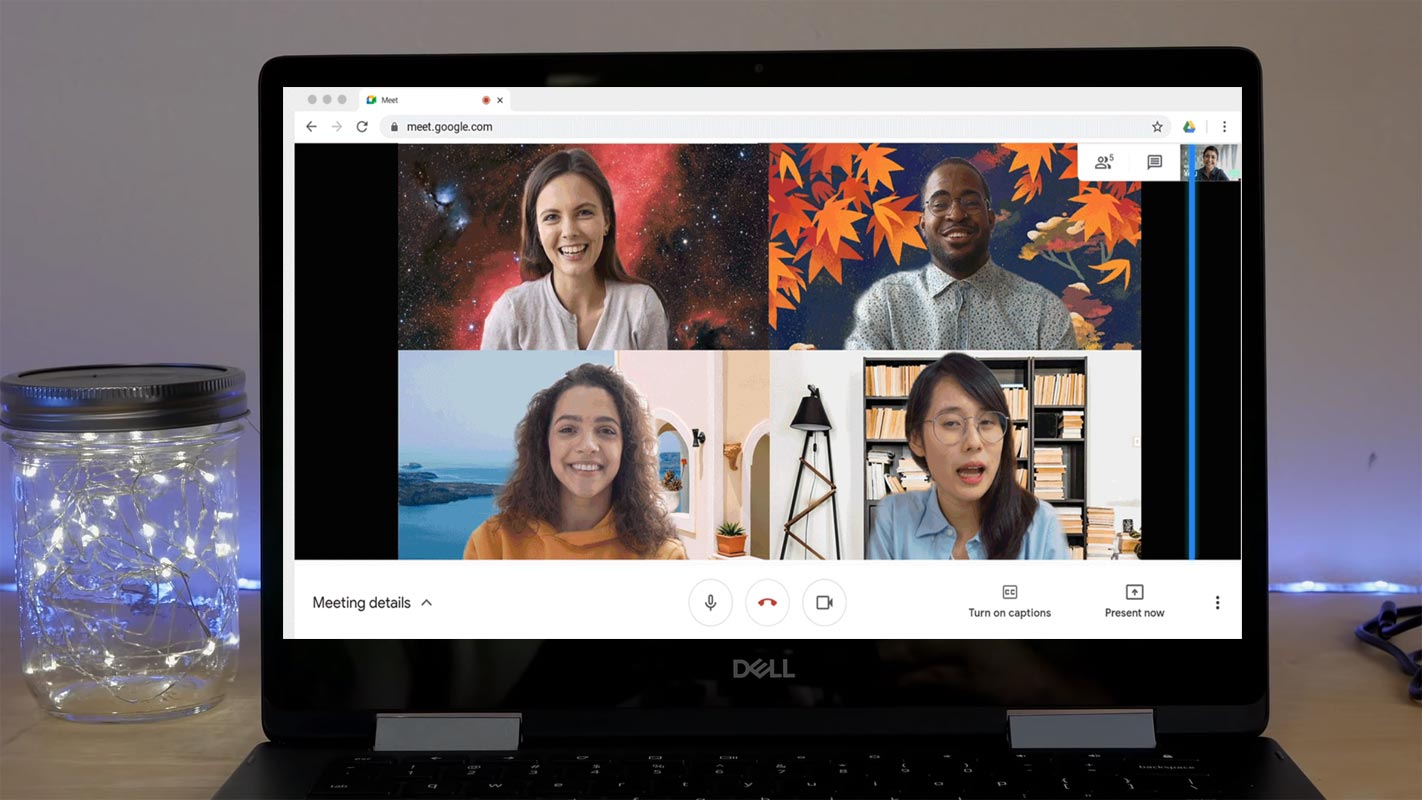 Google Meet Custom Background Chromebook