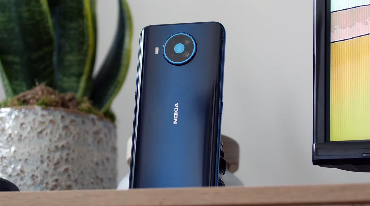 Nokia 8.3 Rear Camera view