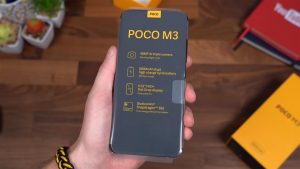 Poco M3 with retail Specs Sheet