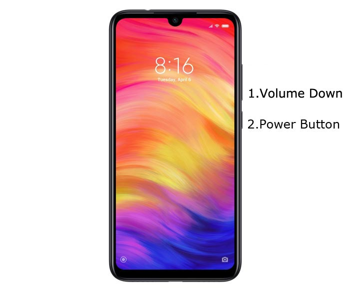 Redmi Note 7 Pro Fastboot Mode