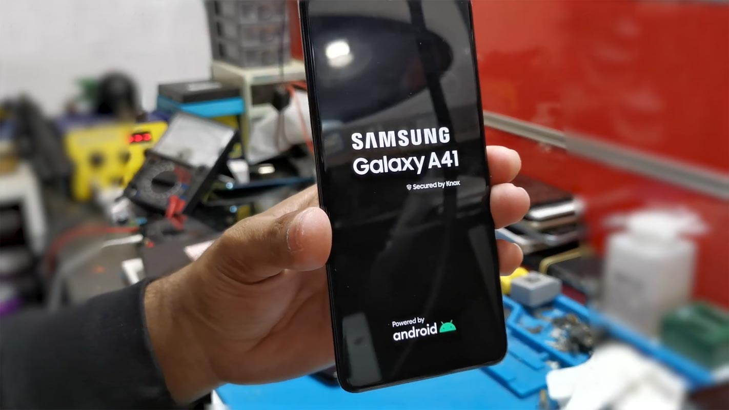 Samsung Galaxy A41 Boot Logo