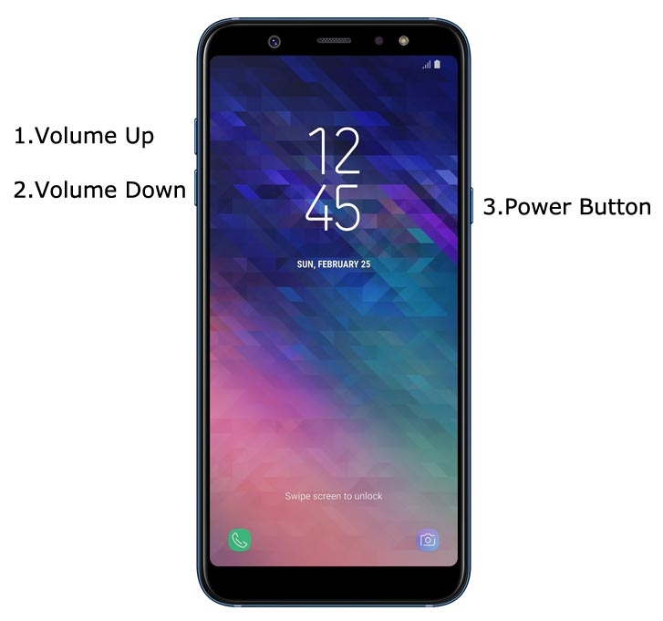 Samsung Galaxy A6 Plus 2018 Recovery Mode