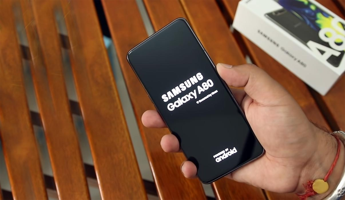 Samsung Galaxy A80 Boot Logo Screen