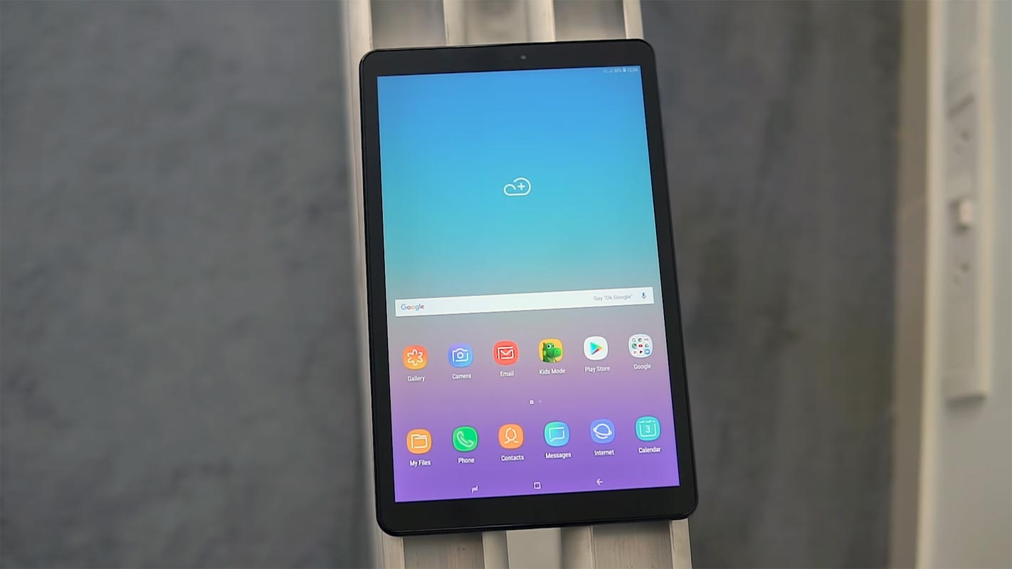 Samsung Galaxy Tab A 10.5 2018 Unlocked Home Screen
