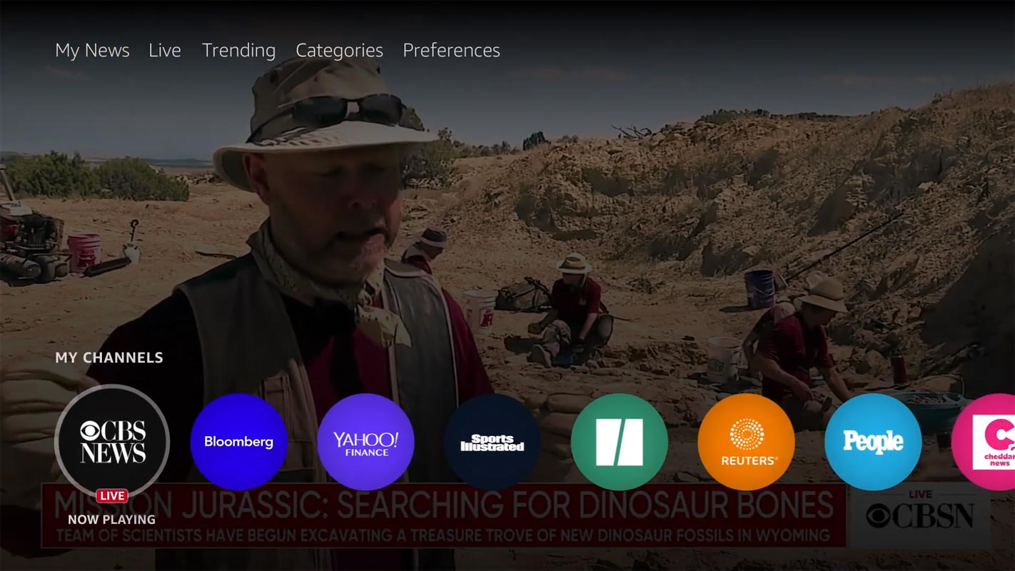 Amazon Fire TV Free US Local News Channels