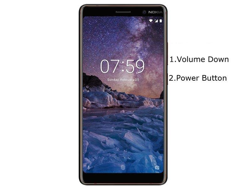 Nokia 7 Plus Fastboot Mode