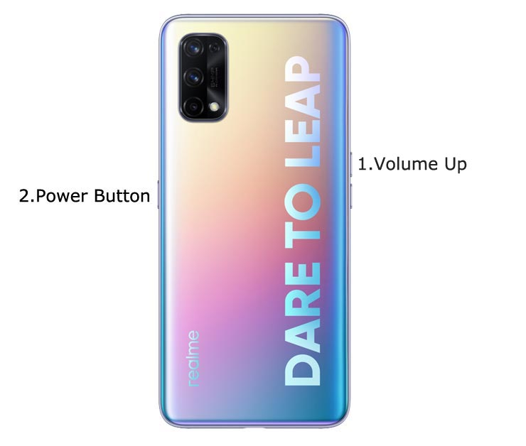 Realme 7 Pro Fastboot Mode