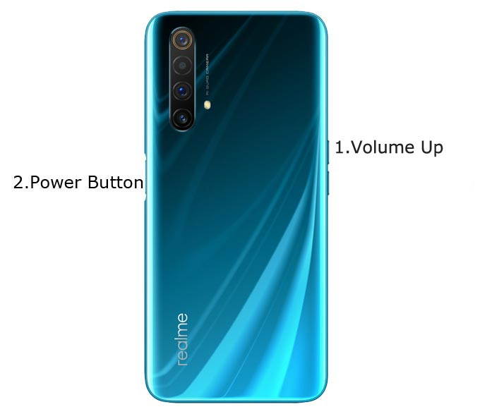 Realme X50 Pro 5G Player Fastboot Mode