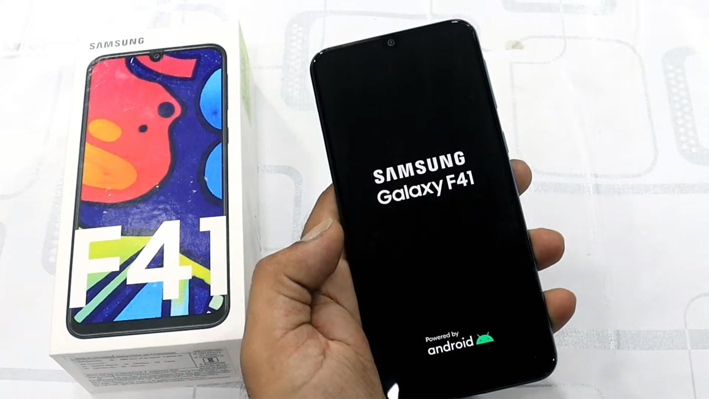 Samsung Galaxy F41 Boot Logo