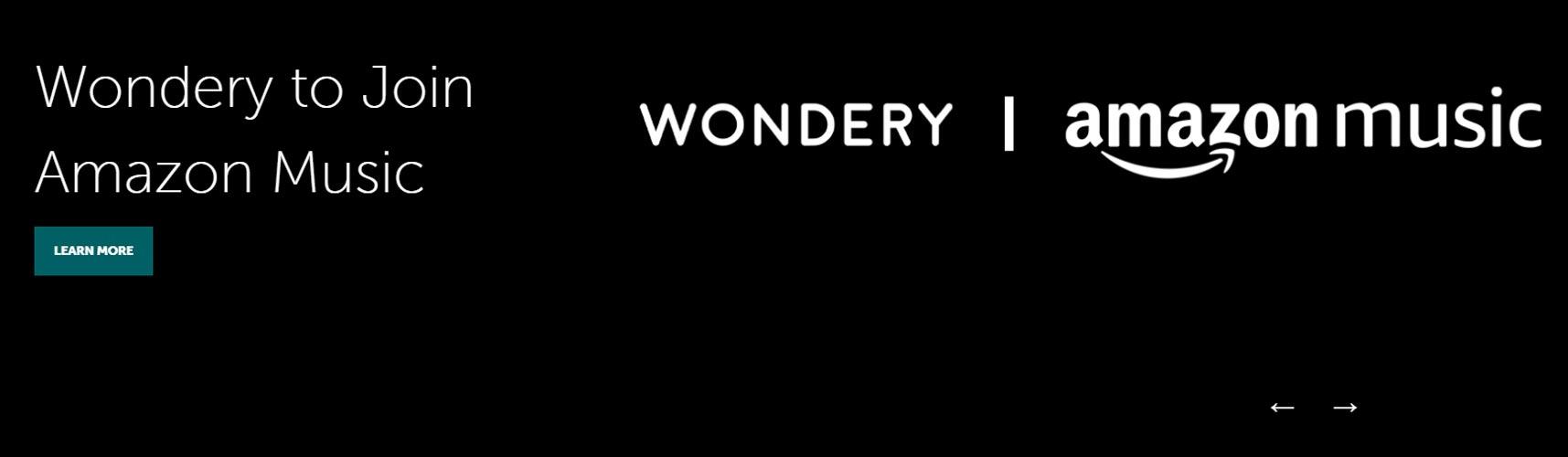 Amazon acquires Wondery