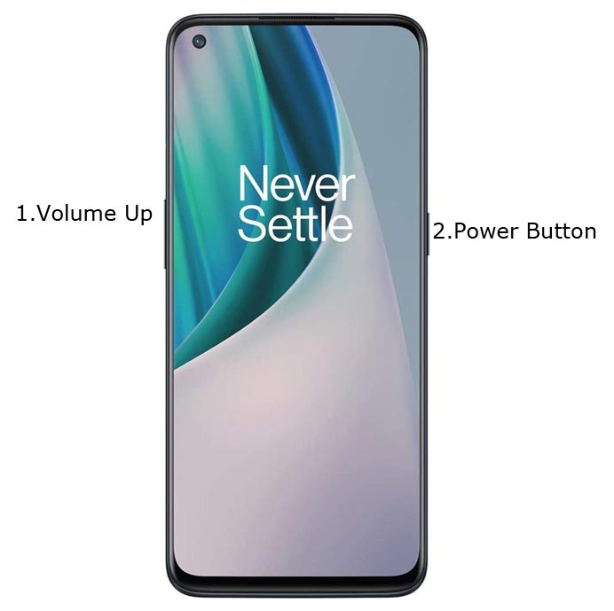 OnePlus Nord N10 5G Fastboot Mode