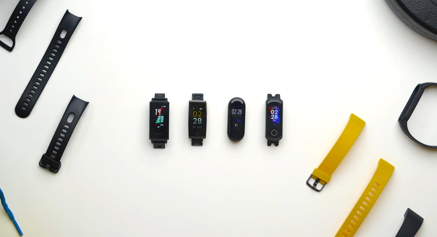 OnePlus Prototype Fitness Bands Samples