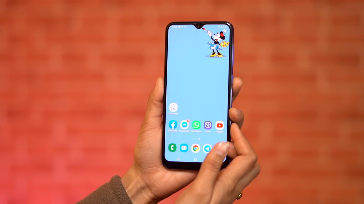 Samsung Galaxy A30s Unlocked Home Screen