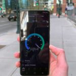 Smasung galaxy S20 Verizon 5G test in Speedtest