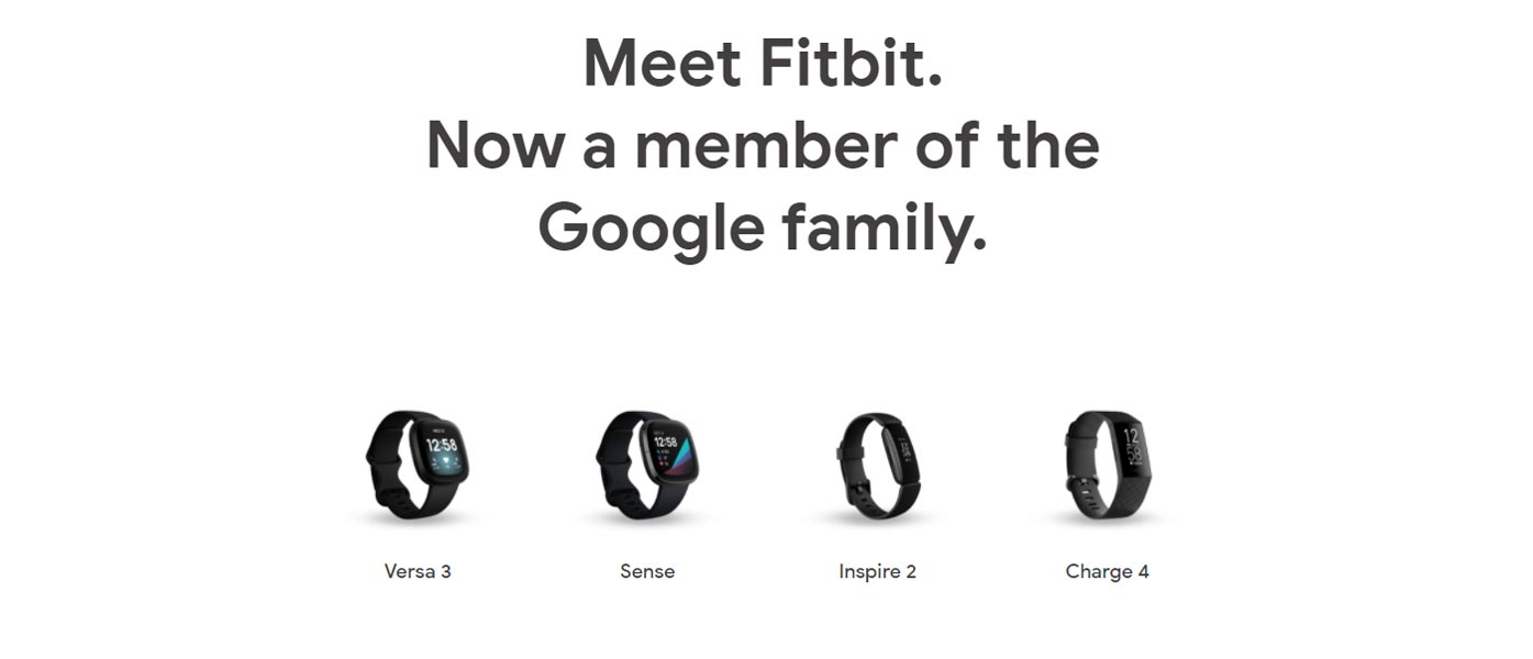 Fitbit Bands available Google Store