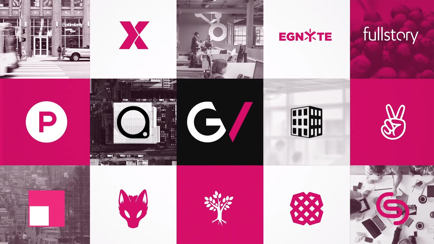 Google Ventures Logo With Other Companies