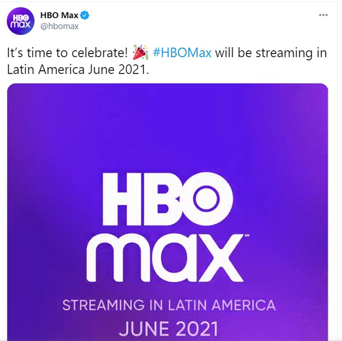 HBO Max coming to Latin America and Caribbean Countries