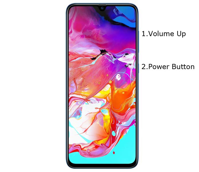 Samsung Galaxy A70 A705 Recovery Mode