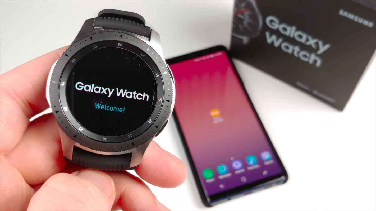 Samsung Galaxy Watch with Retail Box