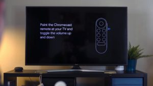 Google Chromecast TV Remote Setup