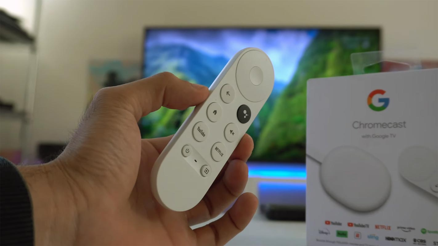 Google TV with Chromecast with Remote and Retail Box