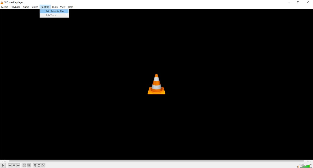 Add Subtitle VLC Player Manually