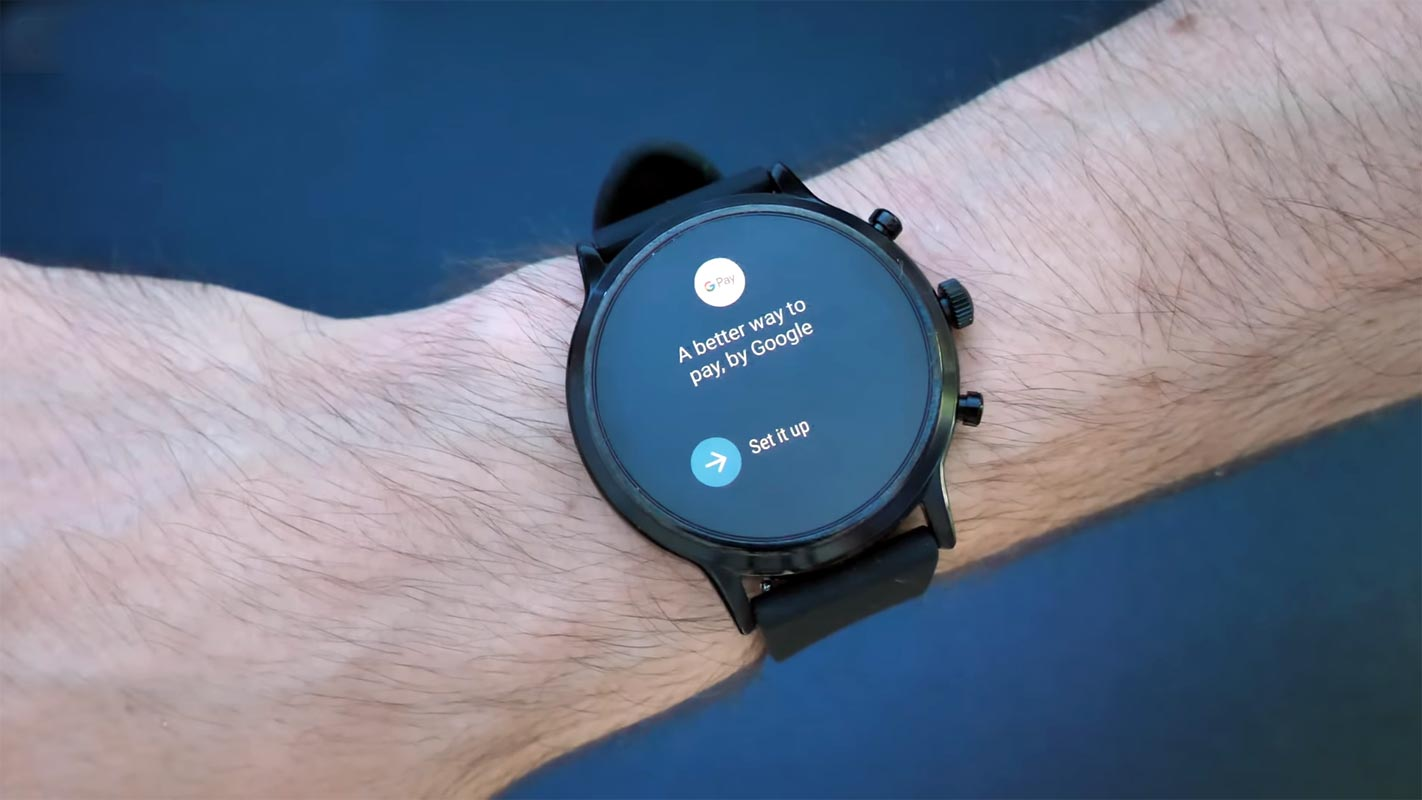 Google Pay in Fossil Smart Watch