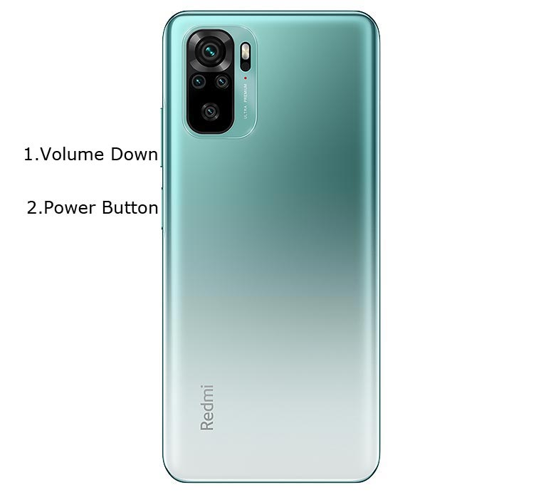 Redmi Note 10 Pro Fastboot Mode