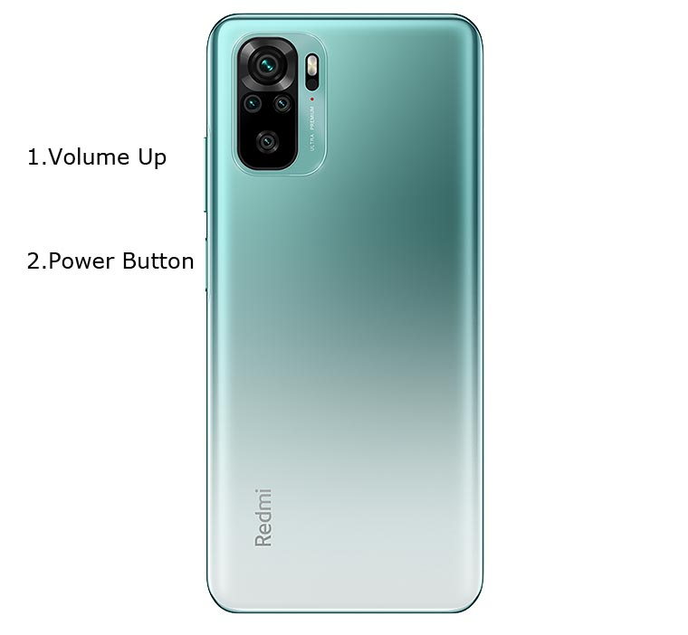 Redmi Note 10 Recovery Mode