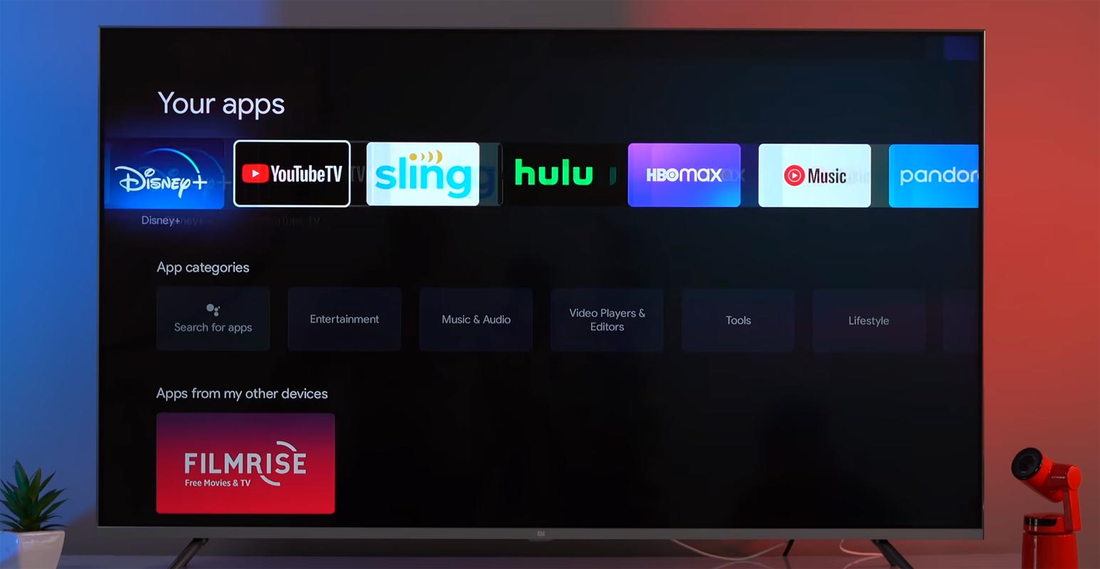 YouTube TV in Google TV