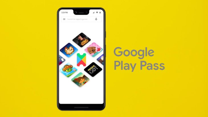 Google Play Pass in Pixel 3 Mobile