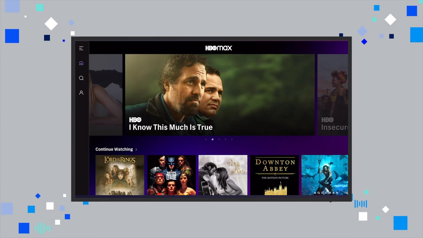 HBO Max Contents in Android TV Animation