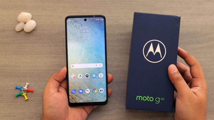 Moto G60 Android 11 with Retailbox