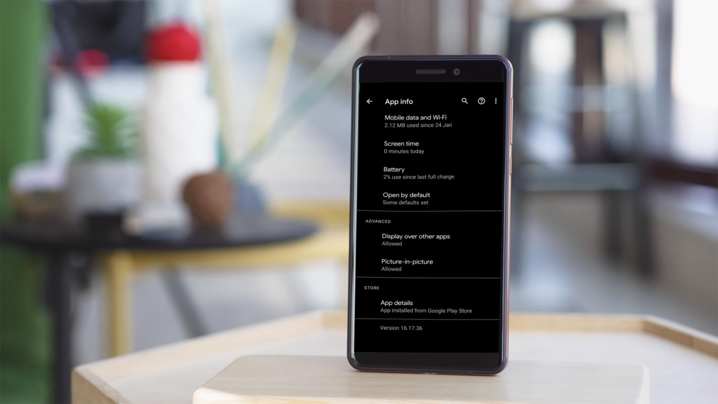 YouTube App Version Details in Android Mobiles