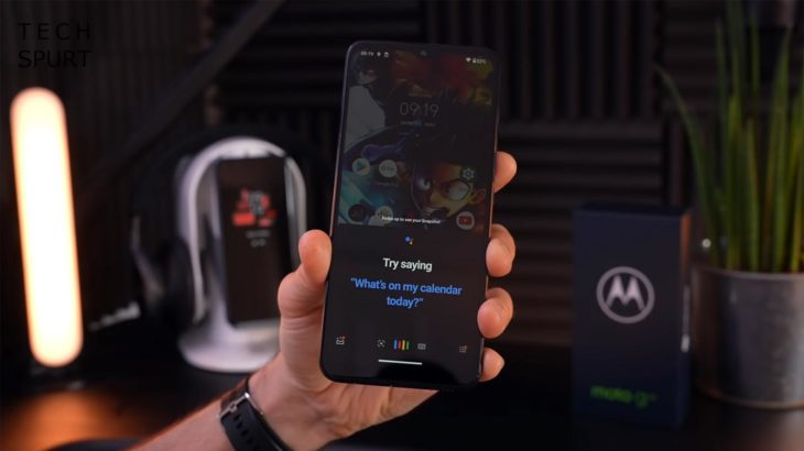 Moto G50 Android 11 Google Assistant Screen