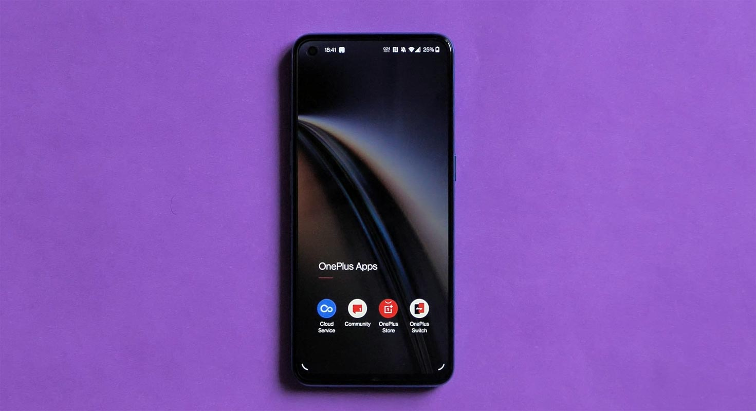 OnePlus Nord CE 5G Apps Screen