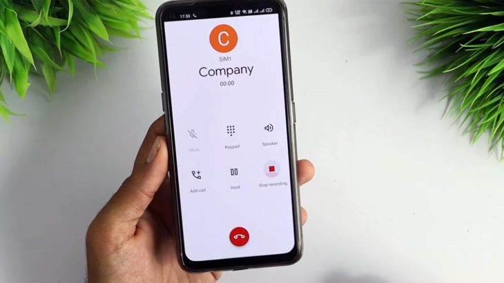 Google Call Recording in Pixel 4a