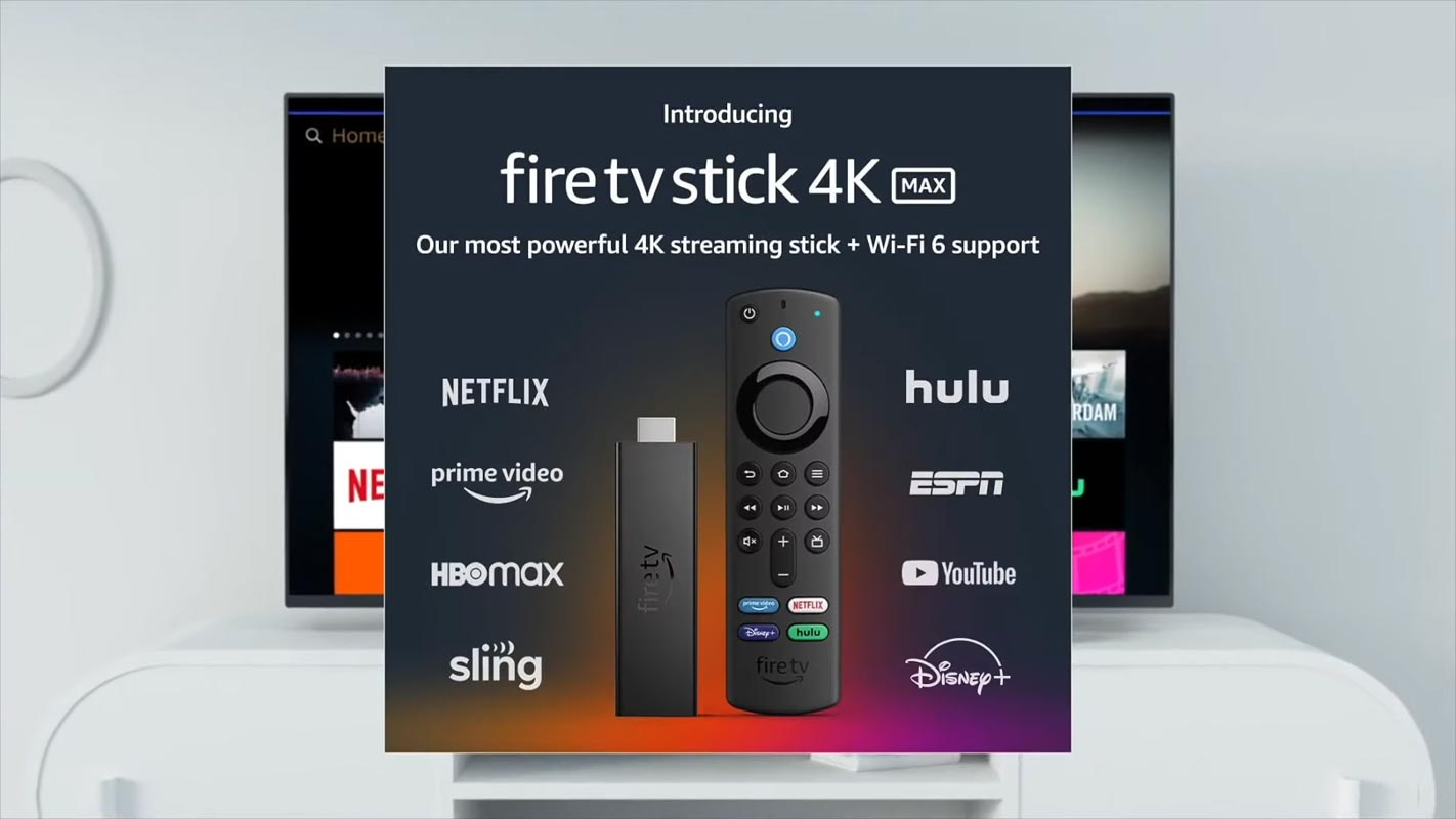 Fire TV Stick 4K Max with Remote