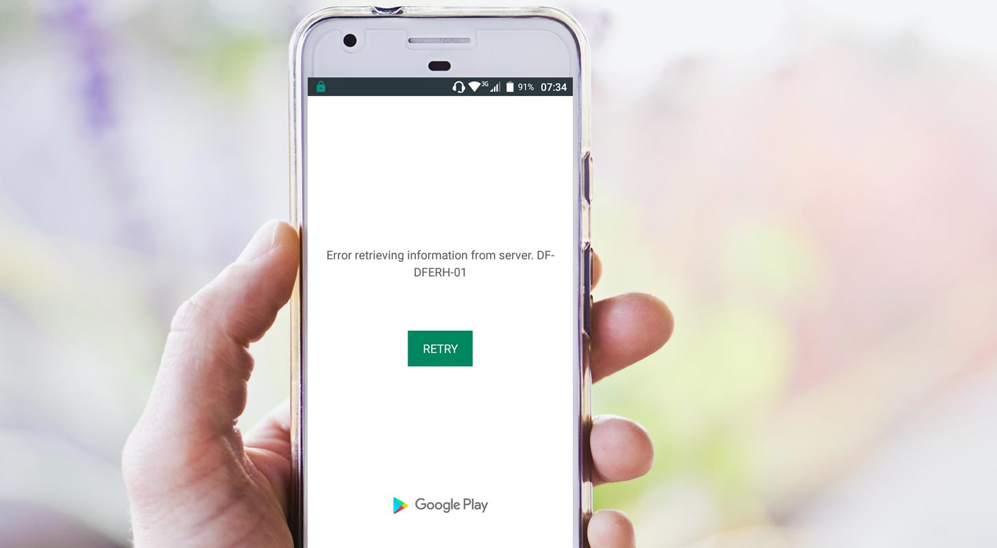 Google Play Store Not Working in Android Mobile Screenshot