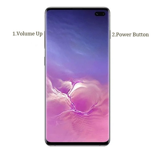 Samsung Galaxy S10 Plus recovery mode