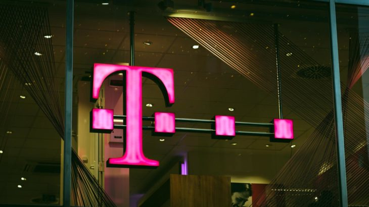 T-Mobile Logo in the Building
