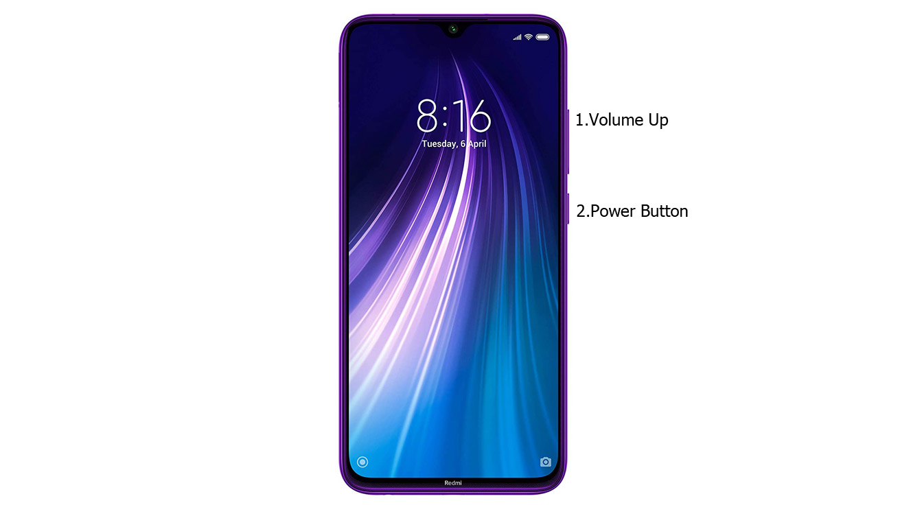 mi note 8 recovery mode