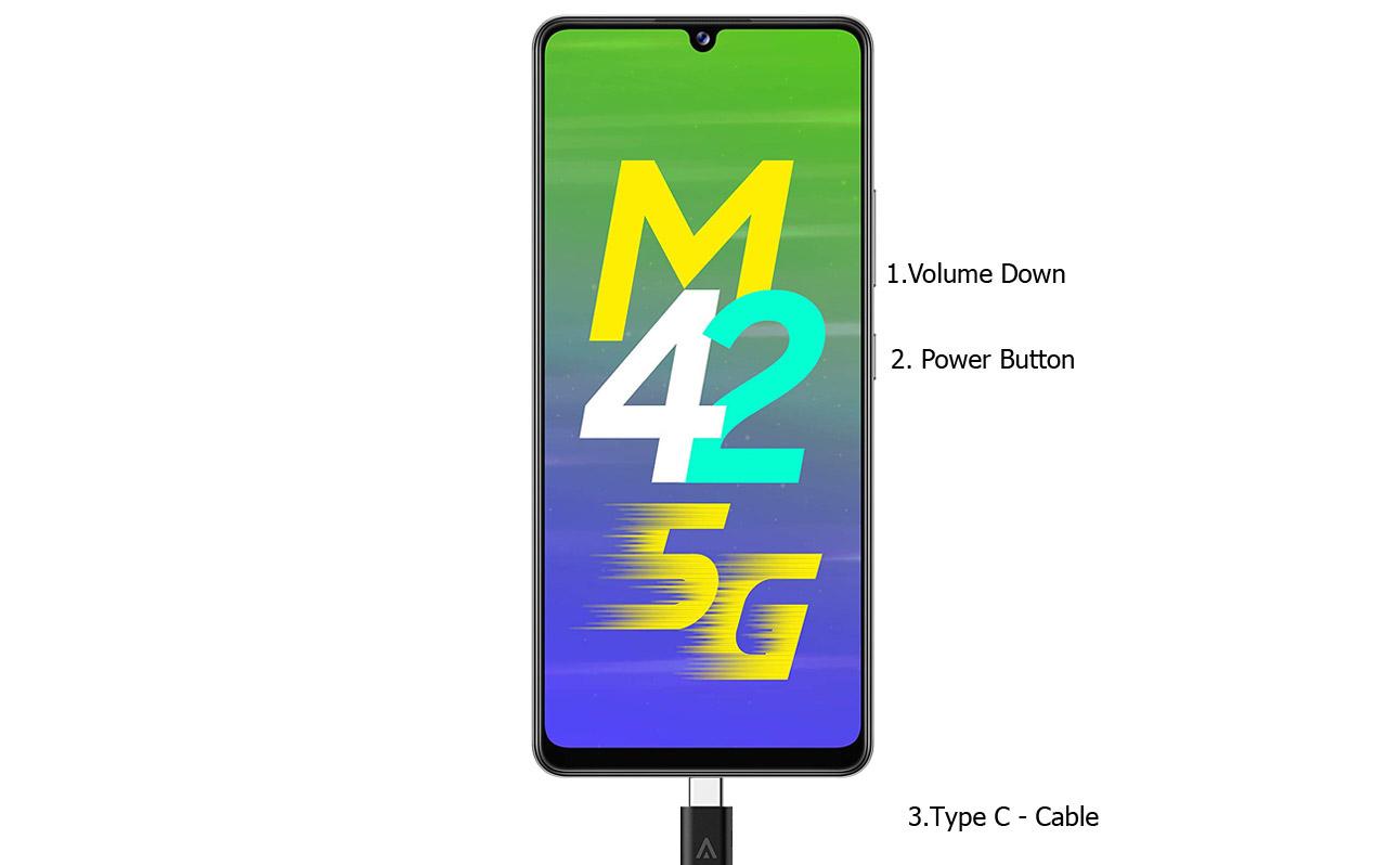 samsung galaxy m42 5g download mode